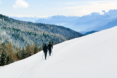 Winterwandern in Proveis